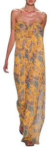 New with tags - Yellow Paisley silk-chiffon - New with tags Maxi Dress by Tibi