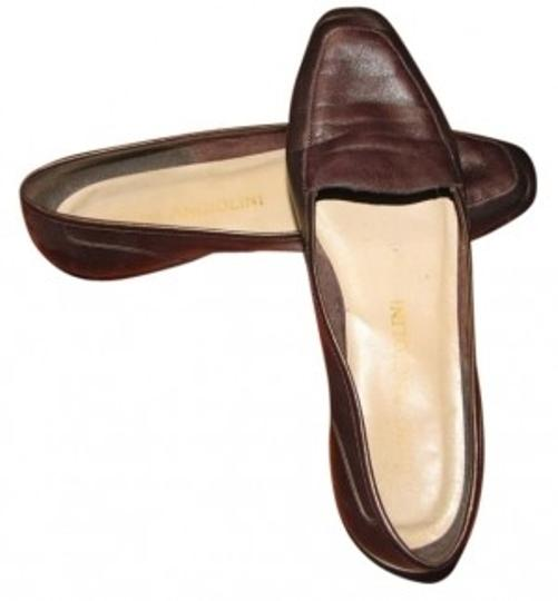 Enzo Angiolini Copper/brown Flats