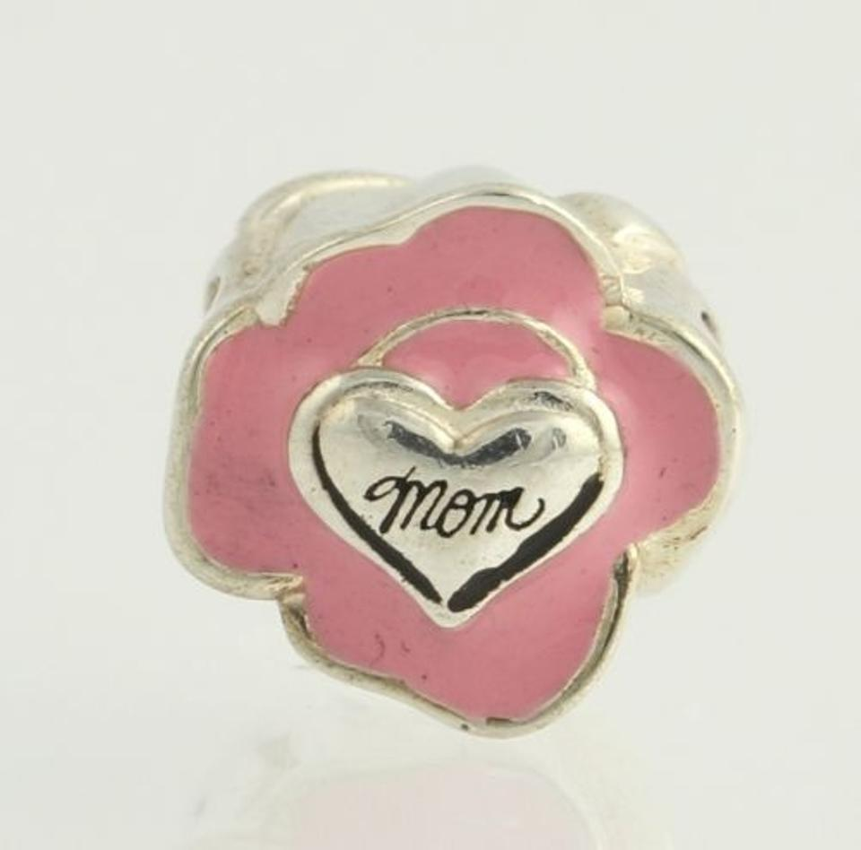 ea4fe7ba621df Chamilia Na-34 Bead Charm - Sterling Silver Mom Rose Flower Mother Pink