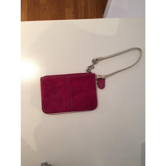 Coach Wristlet in Pink, Brown, White Image 2
