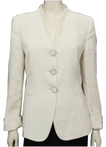 Giorgio Armani Business Corporate Work Wear Cream Blazer