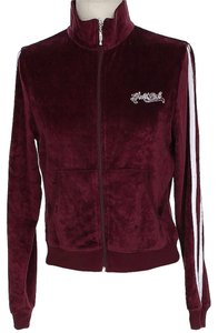 Hale Bob Embroidered Signature Velour Jacket