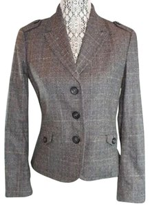 United Colors of Benetton Wool BROWN Blazer