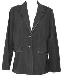 Tahari Black Wool Blazer