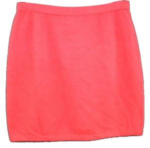 St. John Sjk Knit Skirt RED