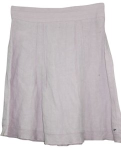 United Colors of Benetton Linen Skirt PINK