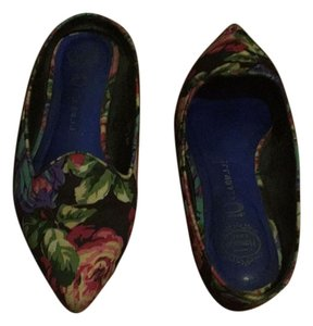 Jeffrey Campbell Multi floral print Flats