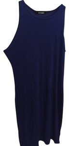 Missguided short dress cobalt Bodycon T-shirt Soft on Tradesy