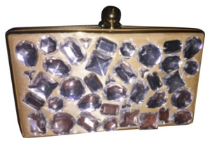 Nila Anthony Gold Clutch