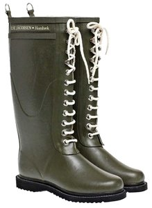 Ilse Jacobsen Rubber Army Boots