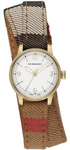 Burberry Burberry the Utilitarian BU7851 House Check Leather Wrap Womens Watch