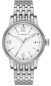 Burberry Burberry The Utilitarian BU7838 Silver Stainless White Dial Womens Watch