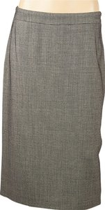 Max Mara Wool Straight Skirt