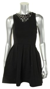 Eight Sixty short dress Black Ponte on Tradesy