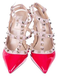 Valentino Red/blush Pink Pumps