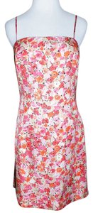 Ann Taylor short dress Multi Silk on Tradesy