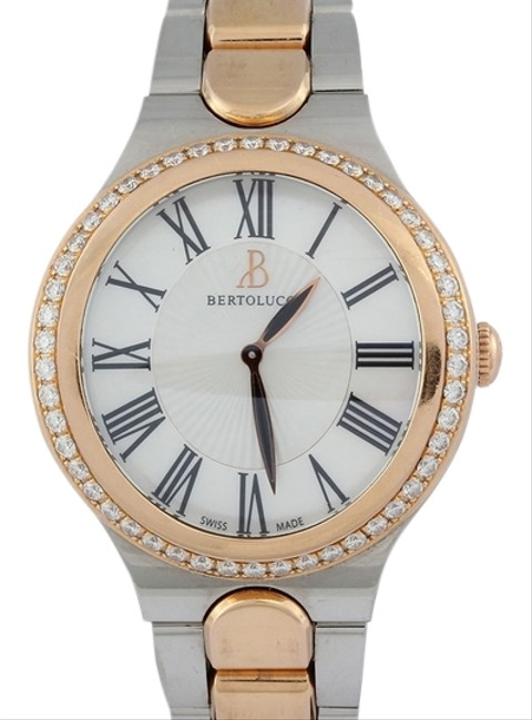 Item - Gold Two Tone Serena Garbo Mid-size 37mm Watch