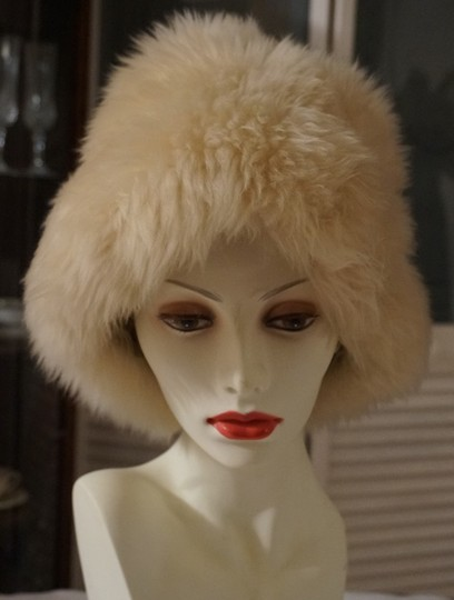 Other Vintage Long Hair Wool Shearling Lamb Dr Zhivago Style Fur Hat