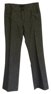Banana Republic Straight Pants Charcoal Herringbone