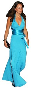 BCBGMAXAZRIA Kate Middleton Halter Bcbg Dress