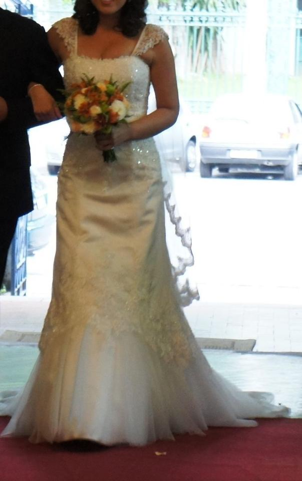 Maggie sottero milana wedding dress tradesy for Best way to sell used wedding dress