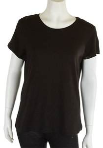 Alfani Cotton Shirt Casual T Shirt Black