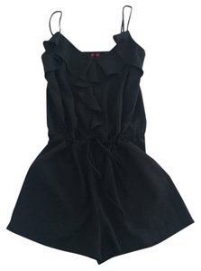5/48 Black Tie Waist Pockets Dress