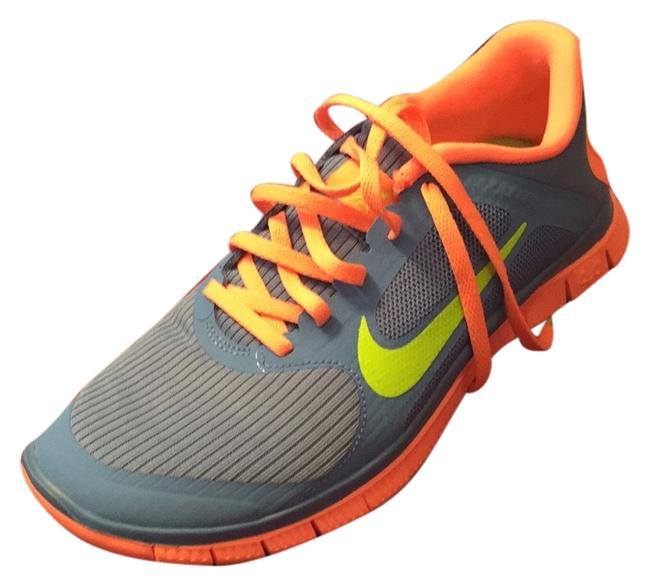 Item - Blue Coral Neon Green Running Competitor Sneakers Size US 9 Regular (M, B)