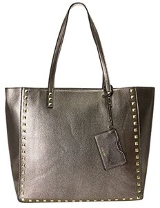 Nine West Stud Detail Caryall Tote in Gold Multi