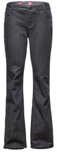 ZITY Relaxed Cotton New Boot Cut Jeans-Dark Rinse