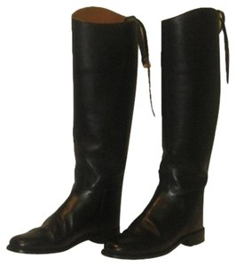 Marlborough Ralph Lauren Frye Pendleton Black Boots