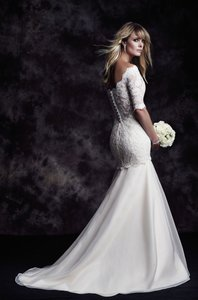 Paloma Blanca 4604 Wedding Dress