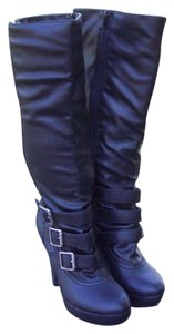GLO Jeans black Boots