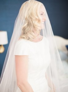 Stunning Long One Piece Veil