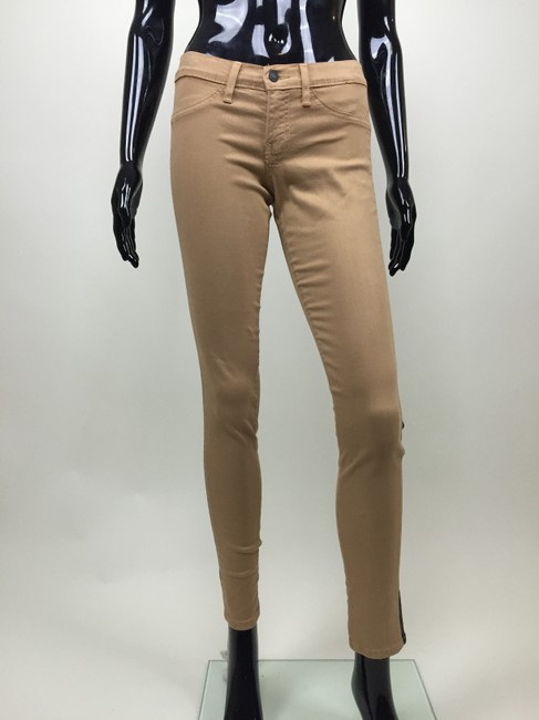 Other Jeans Stretch Stripe Skinny Pants black, tan Image 1