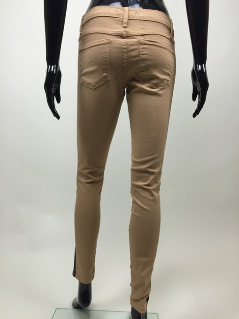 Other Jeans Stretch Stripe Skinny Pants black, tan Image 3