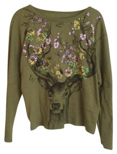 L.O.L. Vintage Graphic Deer Sweater
