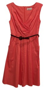Jessica Simpson short dress Coral Belted on Tradesy