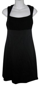 Nicole Miller Little Velvet Silk Rayon Dress