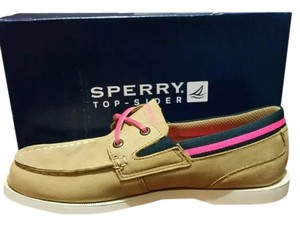 Sperry Tan & Pink Athletic