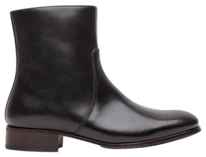 A.P.C. Leather Boot Luxury Sleek Black Boots