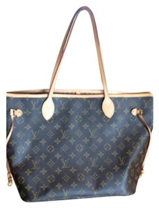 Louis Vuitton Fashion Neverfull Tote in Brown