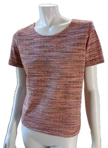 Nordstrom Short Sleeve Stretchy Casual 2066 T Shirt Pink