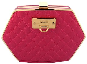 Bodhi Electric Pink Clutch