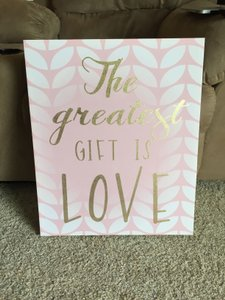 Cute Wedding Sign For Gift Table