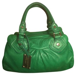 Marc Jacobs Satchel in Bright Green
