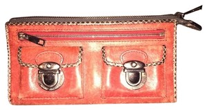 Marc by Marc Jacobs Marc Jacobs Leather Zip Clutch Wallet
