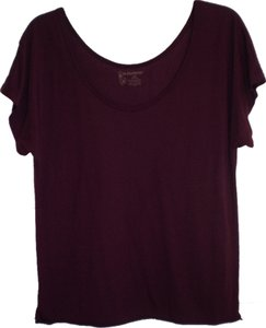 No Boundaries Top plum