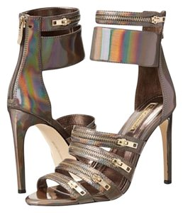 BCBGMAXAZRIA Metallic Sandals