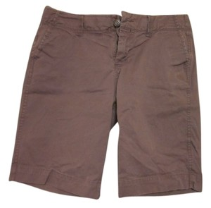 Old Navy Bermuda Ballerina Bermuda Shorts Brown